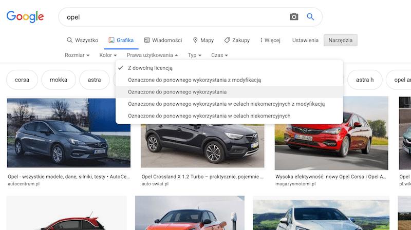 optymalizacja zdjęć Google Grafika